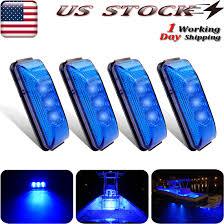 Blue Led Running Lights Details About 4x Oval Blue Marine Bow Led Running Lights Boat Navigation Deck Light