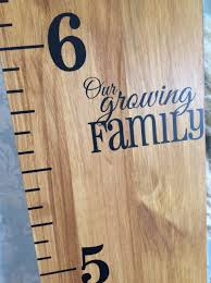 How To Make A Giant Ruler Growth Chart Queen Of My Castle