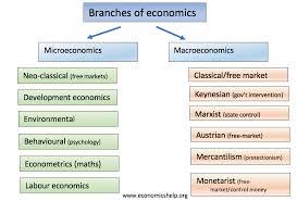 Branches Of Economics Economics Help