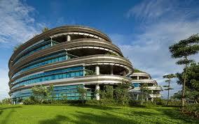 green office building. Green Office Park Gedung Perkantoran Ramah Lingkungan Building C