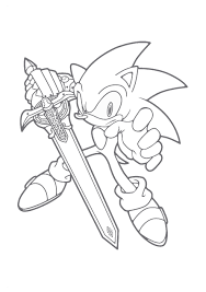 Small Picture Coloring Page Sonic The Hedgehog Coloring Pages To Print