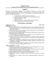 Professional Accounting Resume Senior Accountant Resume O Senior