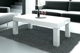 glass white coffee table fashionable black and white coffee table furry carpet white high gloss coffee