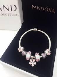 <b>50</b>% OFF!!! $199 Pandora Charm Bracelet Pink Flowers. <b>Hot Sale</b> ...