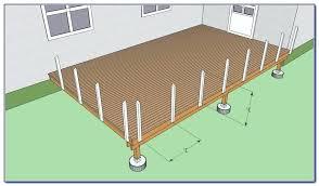 installing deck posts railings railing corner post l30