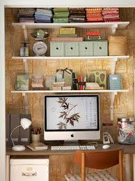 Image Organization Cozy Work Space Better Homes And Gardens Home Office Storage Organization Solutions