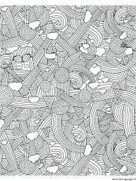 Stress Coloring Pages Coloring Page Anti Stress Relaxation Printable