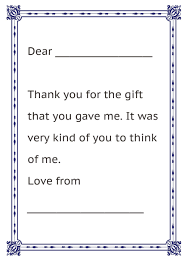 Thank you letter for generous gift choice image letter format thank you  letter present choice image