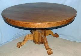antique round table with claw feet antique claw foot dining table value inspirations oak room lot antique round table