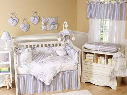 Furniture : Shabby Chic Baby Furniture Interior With White Crib With  Mattress And White Cushion Plus Patterned Cushions With Wooden Floor  Material And Cream ...