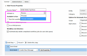 Process Template Dynamics 365 Copy A Workflow In The Same Entity Using A Process