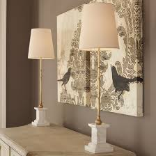 modern marble pedestal table lamp buffet table lamps b33