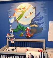 peter pan baby nursery room luxury captain hook s ship chandelier wow mural for a contemporary