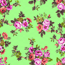 Vintage Floral Print Floral Print Wallpapers Group 51
