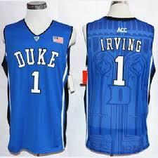 Duke Da T-shirts Uomo Irving Koszulki Recente Swingman Dwyze56056 2018-2019 Kyrie University Portugal Nba Blu Basket 1 Dhl Maglia Ncaa Nba