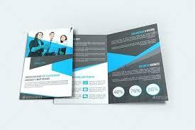 2 Folded Brochure Template Two Fold Brochure Template Bi Templates Free 2 Fold Brochure