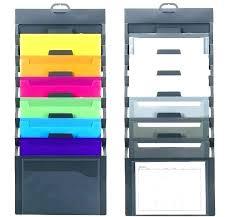 Wall Hanging File Folders Best Wall Folder Organizer Domk