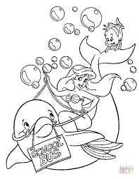 Small Picture Ariel and under sea world coloring page Free Printable Coloring