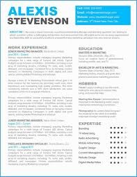 Modern Resume Template Microsoft Word Free Download Astonishing