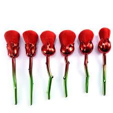vire rose brush set 6pcs6