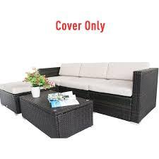 outsunny rattan garden furniture