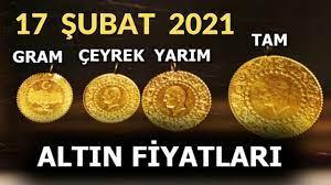 17 ŞUBAT 2021 ALTIN FİYATLARI, ÇEYREK ALTIN, YARIM ALTIN, TAM ALTIN, GRAM ALTIN  FİYATI, GOLD PARA - YouTube