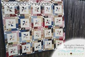Seasoned Pinwheels Quilt Â« Moda Bake Shop & Seasoned Pinwheels Quilt Adamdwight.com