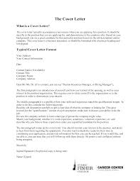 Formal Cover Letter Address Templates At