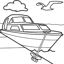 Small Picture Brilliant Ideas of Boat Coloring Pages To Print Also Service