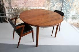 danish modern rosewood dining table by kai kristiansen at 1stdibs