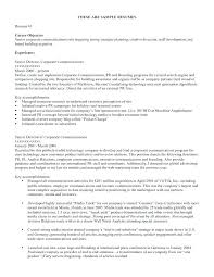 Objective Resumes It Objectives For Resume Employee Objective