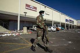 South Africa riots after Zuma jailed