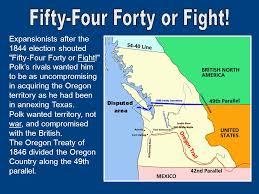 「the oregon treaty of 1846」の画像検索結果