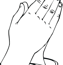 Lds Coloring Pages Prayer Family Child Praying Page Hands Stock