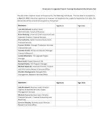 Training Plan Proposal Template