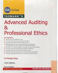 Pankaj Garg Audit Charts Nov 2018 Taxmann Ca Final Advanced Auditing Professional Ethics By