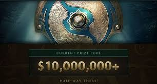 dota 2 news the international 2017 prize pool has reached the 10