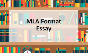 Mla Format For Intext Citations Mla Format Essay The First Page In Text Citation And