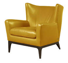 yellow leather chair  modern chairs design