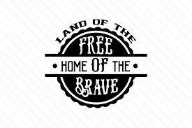 You can upload this format to your cutting software (such as cricut or silhouette for example) and select the layers to cut. Land Of The Free Svg Cut File By Creative Fabrica Crafts Creative Fabrica