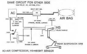 similiar air bag compressor wiring diagram keywords wiring diagram besides air ride suspension wiring diagram moreover air