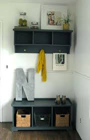 Storage Coat Rack With Baskets Cool Entryway Table With Shoe Storage Shelf And Coat Rack Entryway Table