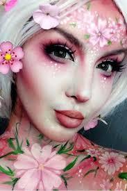 m fantasy makeup ideas flower face paint amazing cute fairy 334 500