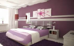 Painting For Bedrooms Bedroom Painting Pictures With Purple And White For Young Couple