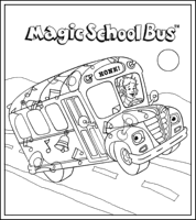 Small Picture Mega Coloring Pages 4 magic schoolbus coloring pages