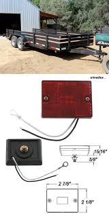Trailer Side Marker Lights Optronics Led Trailer Clearance Or Side Marker Light W