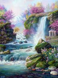 scenery paintings landscape paintings