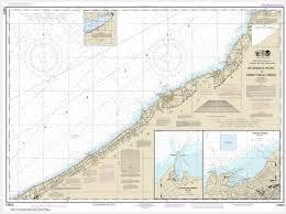 Noaa Chart Sturgeon Point To Twentymile Creek Dunkirk Harbor Barcelona Harbor 14823