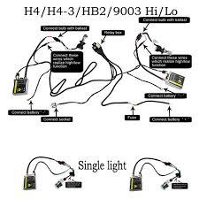 55w canbus bi xenon hid slim kit ac h4 hb2 9003 9004 hb1 9007 hb5 55w canbus bi xenon hid slim kit ac hi lo works all cars