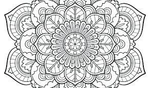 Free Mandala Coloring Pages Sun Color Page Media Mandalas For
